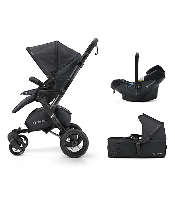Concord Mobility set 2018 Neo Air Safe + Scout  - Cosmic Black