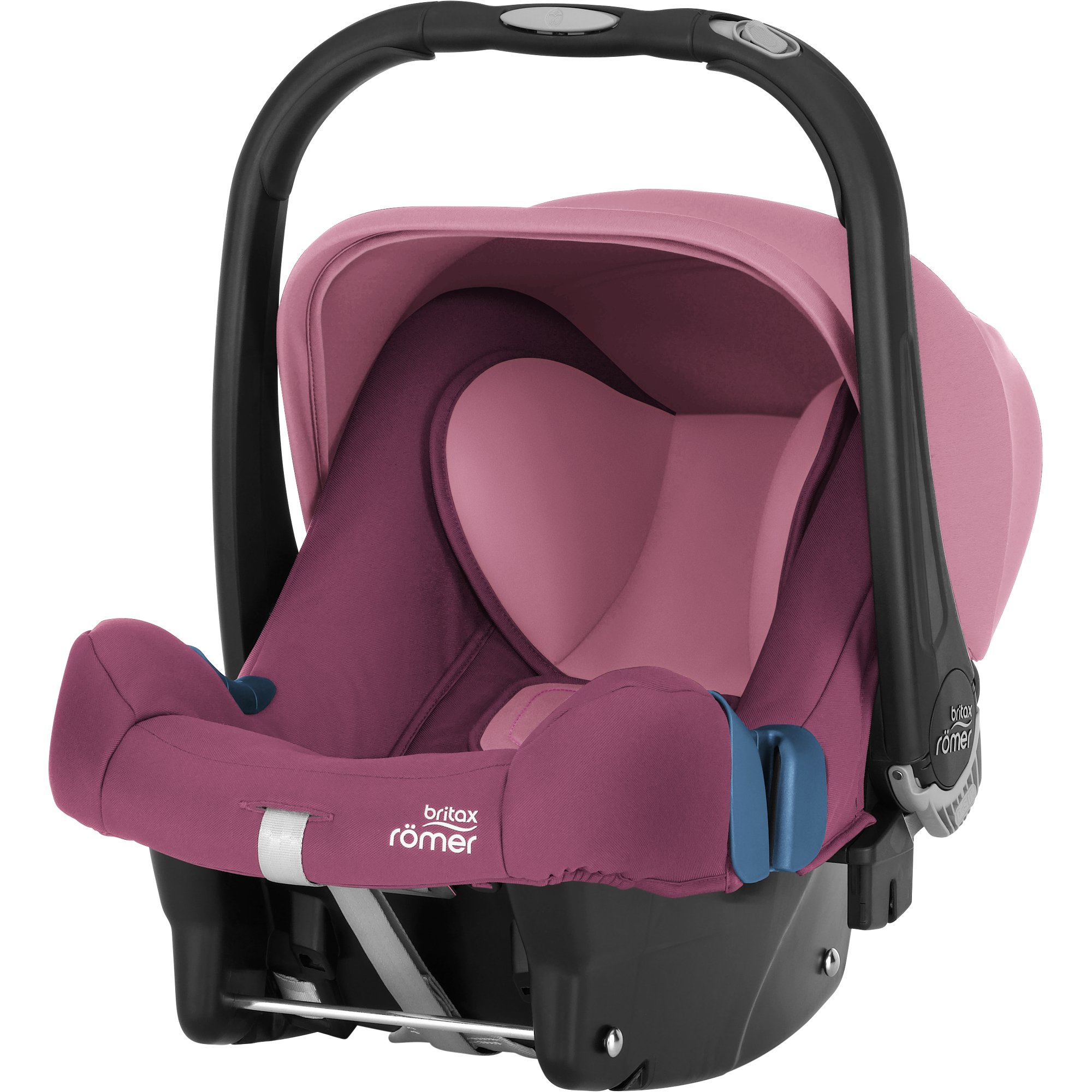 Autosedačka BABY-SAFE PLUS SHR II,2018 Wine rose