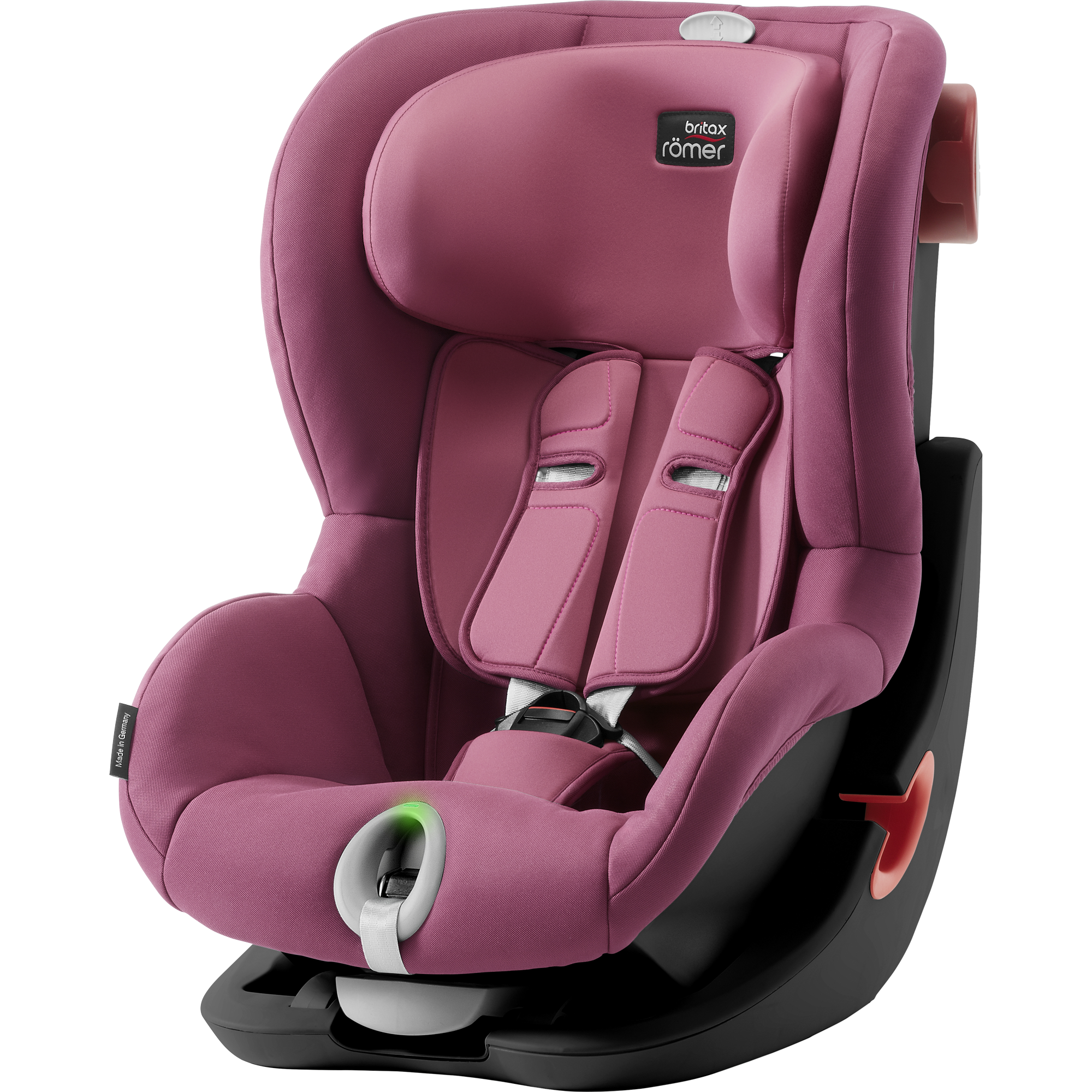 Britax Römer King II LS Black Edition - Wine Rose