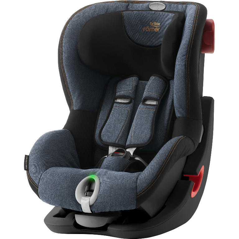 Britax Römer King II LS Black Edition - Blue Marble