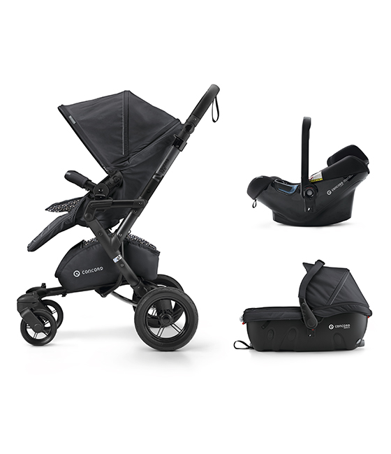 Concord Travel set 2018 Neo Air Safe + Sleeper - Cosmic Black