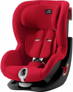 Romer Britax Autosedačka King II Black Edition - Fire Red