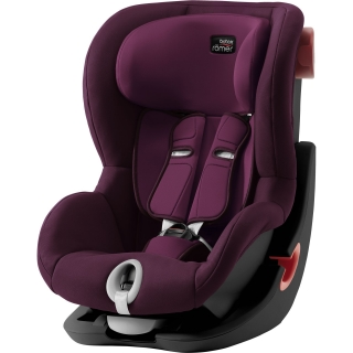 !Romer Britax Autosedačka King II Black Edition Burgundy Red
