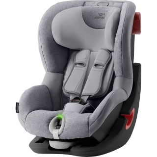 Britax Römer King II LS Black Edition - Grey Marble