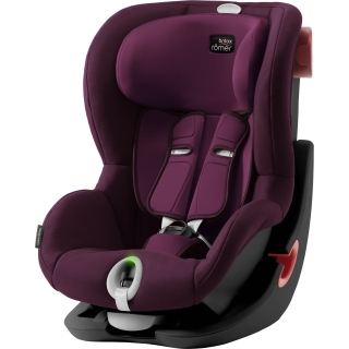 Britax Römer King II LS Black Edition - Burgundy Red
