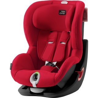 Britax Römer King II LS Black Edition - Fire red
