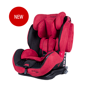 COLETTO SPORTIVO ISOFIX - 9-36 kg Red 2019
